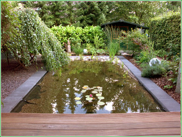 Gartengestaltung Gartenteich Oldenburg