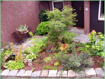 Gartengestaltung Vorgarten In Oldenburg   Nachher (2)