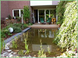 Gartengestaltung moderner garten oldenburg for Gartenteich gestaltung
